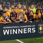 برشلونة يقهر ريال مدريد ويتوج بالكأس الدولة للابطال