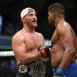 بطل UFC للوزن الثقيل يتحدى بطل العالم للملاكمة في مواجهة مفتوحة