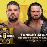 نتائج عرض NXT تيك أوفر بروكلين III المميز والكبير