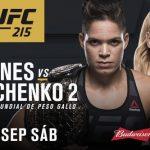 هل نجحت أماندا نونيس بالدفاع عن لقبها أمام فالنتينا شيفشينكو في UFC 215؟