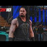 دخول مميز لرومان رينز ونكامورا وجيندر مهال في لعبة المصارعة WWE2K18 (فيديو)
