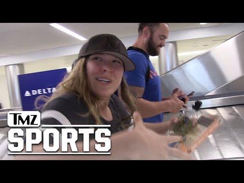 روندا روزي تلمّح لانضمامها للعمل مع WWE برفقة زوجها المقاتل!
