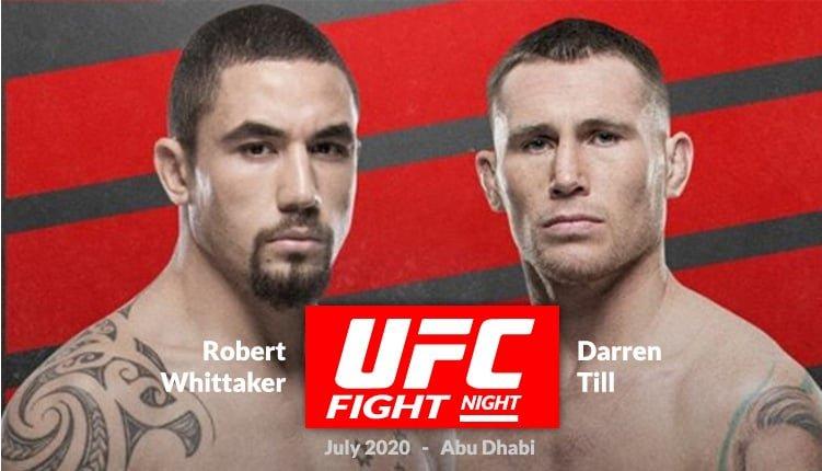 نتائج عرض UFC Fight Night 174 بتاريخ 26.07.2020