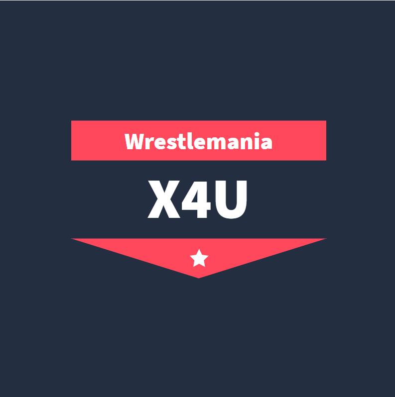 عرض Wrestlemania X4U بتاريخ 13/9/2020