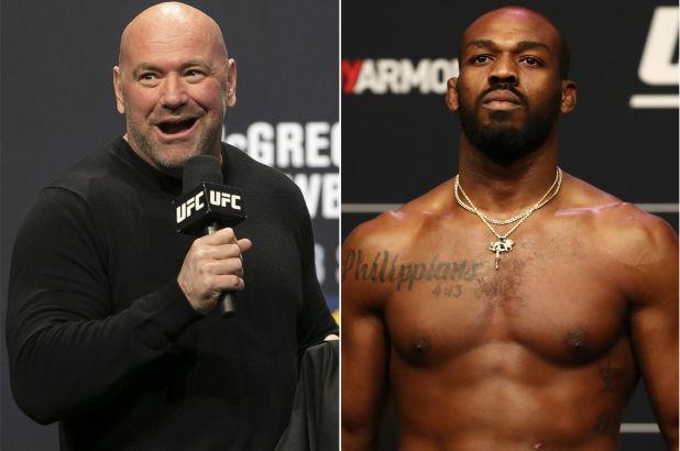رئيس UFC دانا وايت ينفي سحب حزام الوزن الثقيل من جون جونز
