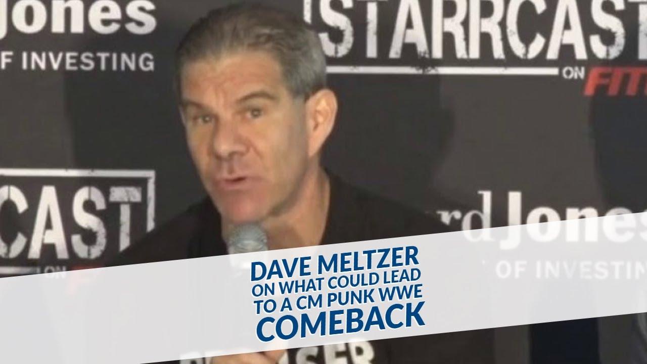 ديف ميلتزر: الـ WWE قد تفكر بإعادة سي إم بانك إن لزم الأمر